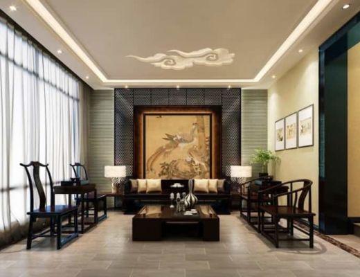Фото 70 - Строгое и необычное решение гостиной, данный интерьер передает уникальный стиль восточного стиля [5]