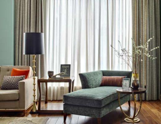 Фото 18 -Красивая гостиная, подчеркнутая классическими элементами декора [7]