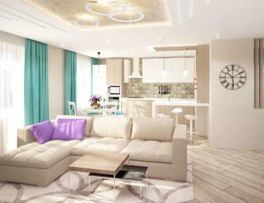 Фото 26 - Красивый диван гармонично смотрящийся в интерьере комнаты