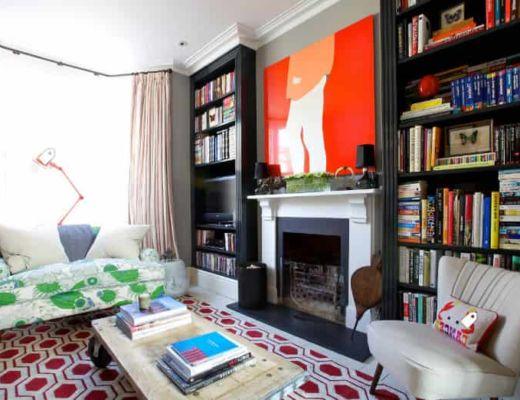 Фото 55 - Сочная дизайнерская картина на стене оставляет сильный акцент в интерьере [18]