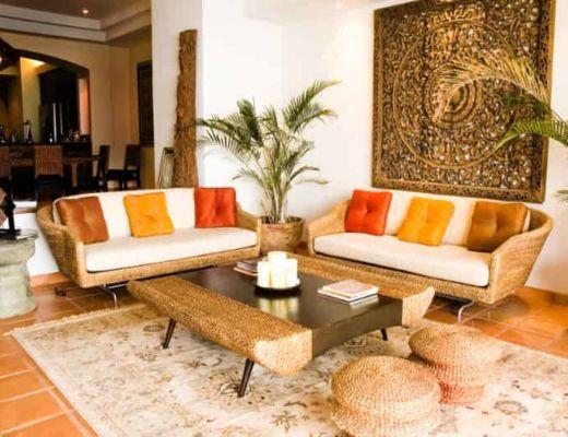 Фото 67 - Необычное цветовое решение гостиной, но не смотря на это можно почувствовать тонкий стиль востока [26]