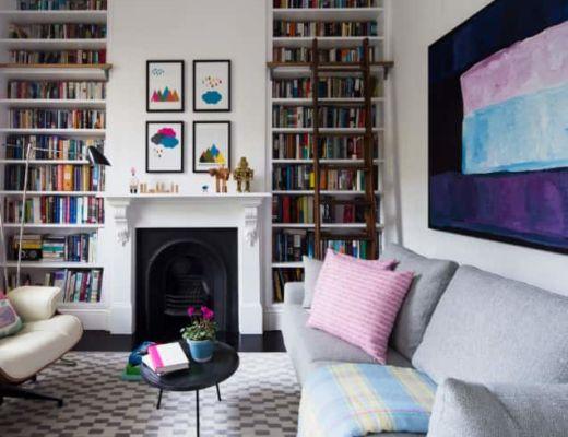 Фото 73 - Красивое сочетание нежных акцентов в одной комнате, позволяет не перенасытить интерьер цветом и подчеркнуть стиль  [30]