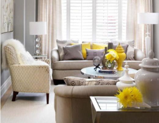 Фото 51 - Яркие желтые акценты наполняют комнату теплом и светом