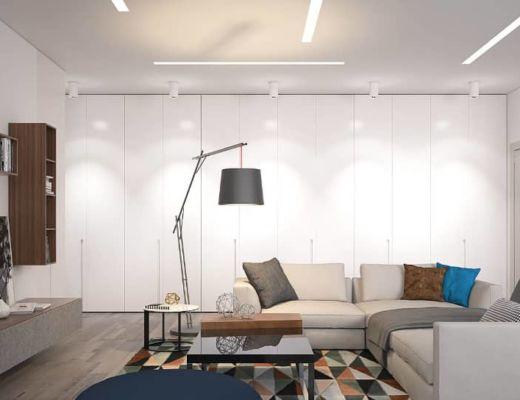 Фото 47 - Интересная дизайнерская лампа тоже может быть элементом декора [4]